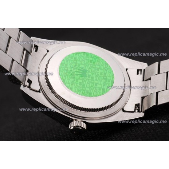 Replica Rolex Daydate Mens Automatic brushed stainless RDd026