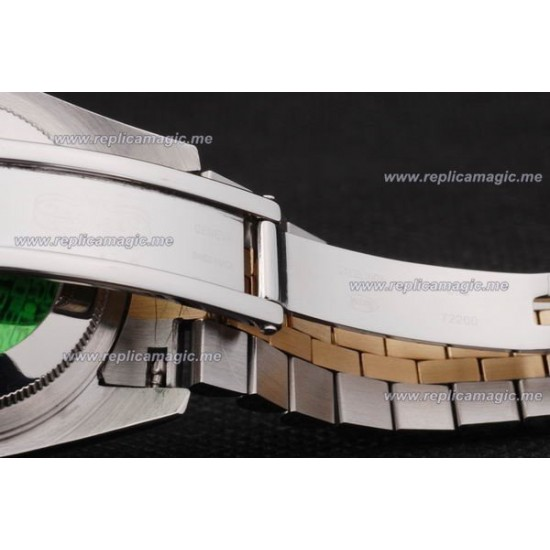 Replica Rolex Daydate Mens Automatic brushed stainless RDd033