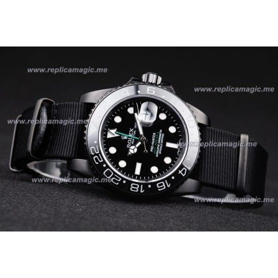 Replica Rolex GMT Master Mens Automatic Stainless Steel RGM006