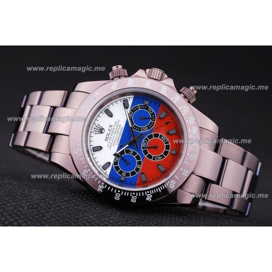 Replica Rolex Perpetual Mens Automatic Rosy Brown Powder-Coated RP014