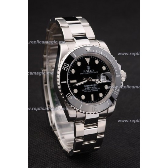Replica Rolex Submariner Mens Automatic Case Size 48 x 40mm RS008
