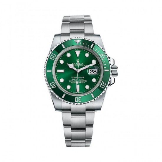 Replica Rolex Submariner 116610LV Mens Green Dial And Bezel In Steel