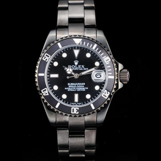 Replica Rolex Submariner Women Automatic Ion-plated Stainless Steel RS013