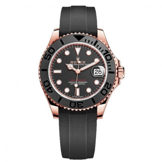 Replica Automatic Rolex Yacht-Master Rose Gold 268655
